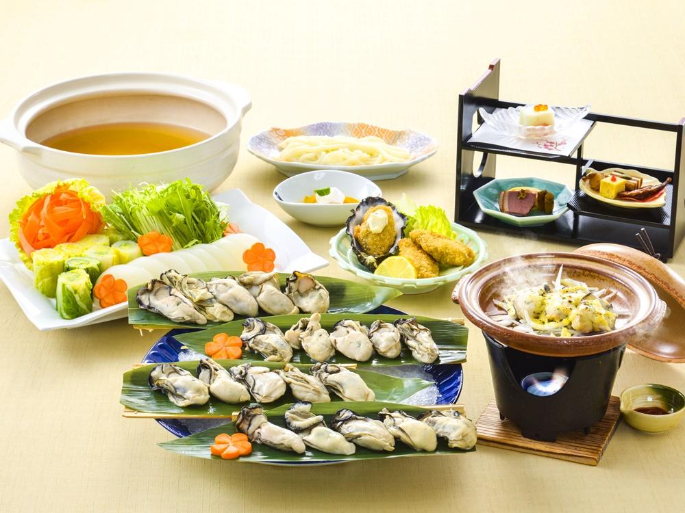 【夕食・朝食付】赤穂の坂越産牡蠣を楽しむ『坂越産牡蠣御膳』2月まで