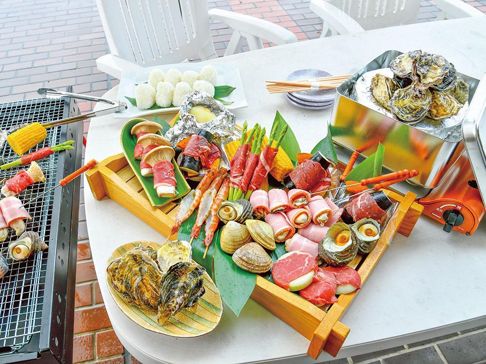 【夕食・朝食付】家族や仲間と海まで徒歩0分のBBQ|遊んで食べてゆっくり休める海鮮バーベキュー