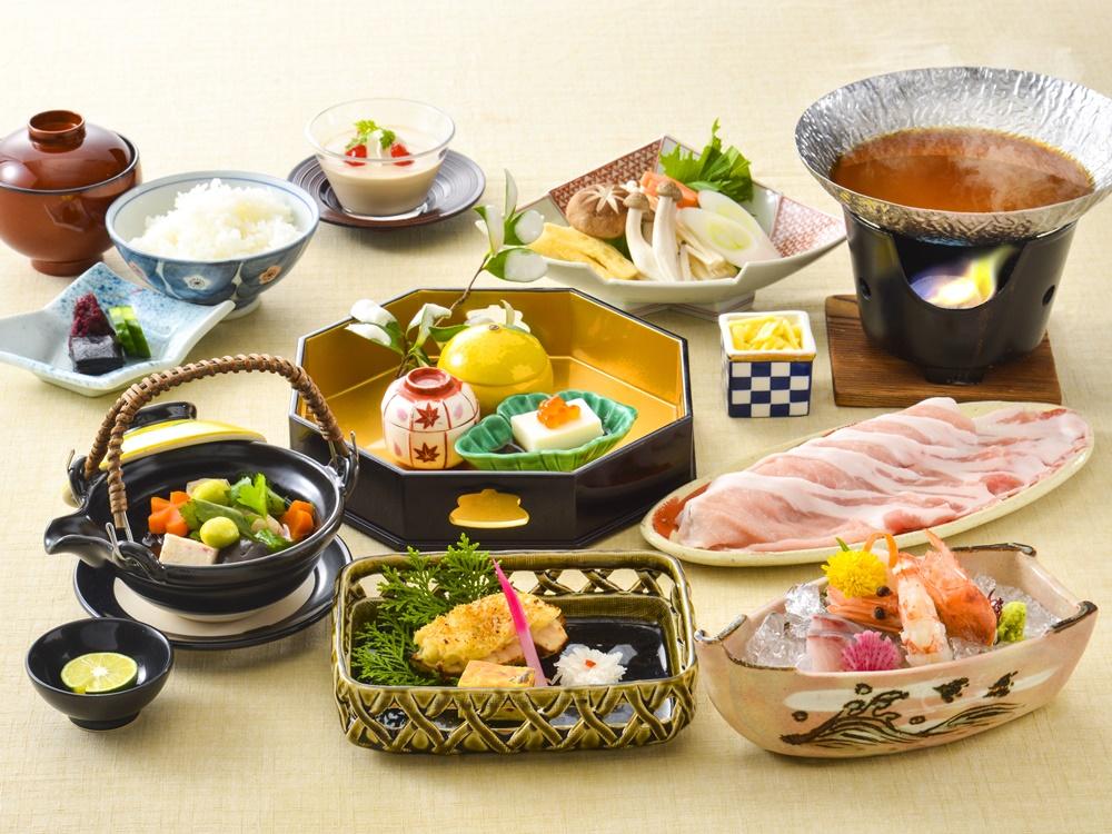 【夕食・朝食付】ひょうご雪姫ポークの合わせ味噌鍋会席|2月まで