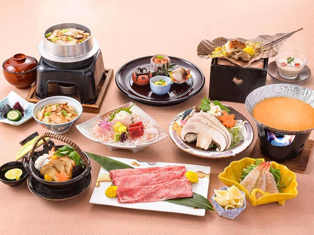 【夕食・朝食付】〆はウニクリームパスタ!『近江牛』濃厚ウニ味噌しゃぶしゃぶおすすめ会席|11月まで