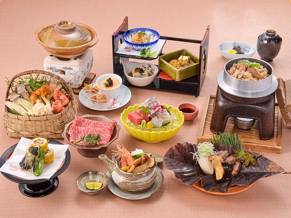 【夕食・朝食付】秋の味覚を五感で味わう・・・近江牛と松茸の特選御膳 10月まで