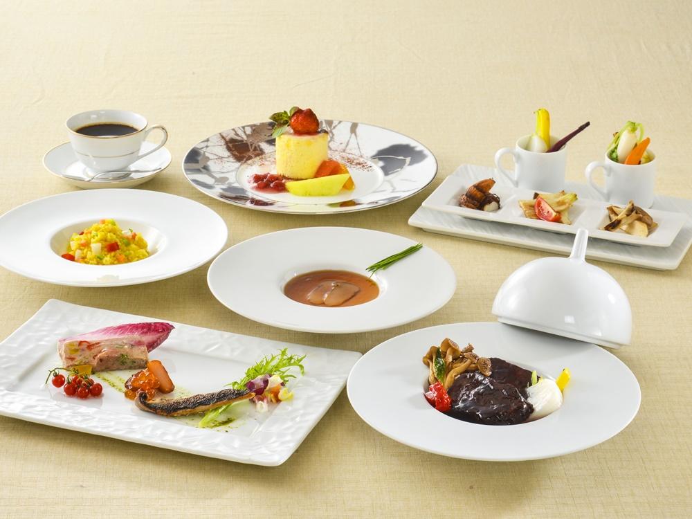 【夕食・朝食付】(飲み放題付)ミルクフェッド仔牛のタンと地野菜のスタンダードコース|2月まで