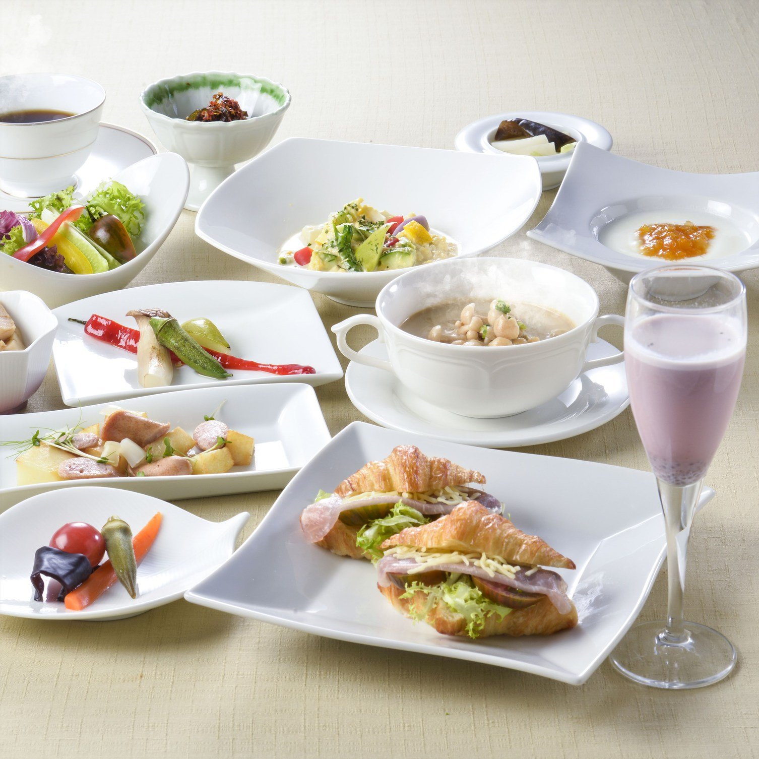 【朝食付】1日の始まりは朝食から!和食・洋食から選べる朝食付プラン