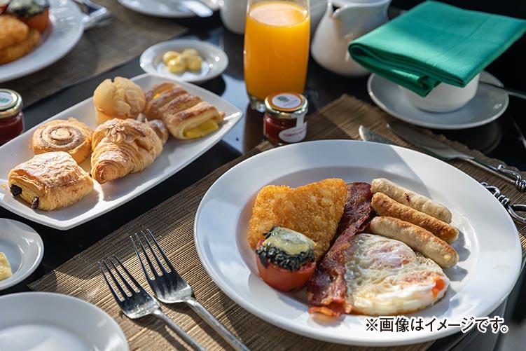 1日の始まりは朝から!朝食付きプラン
