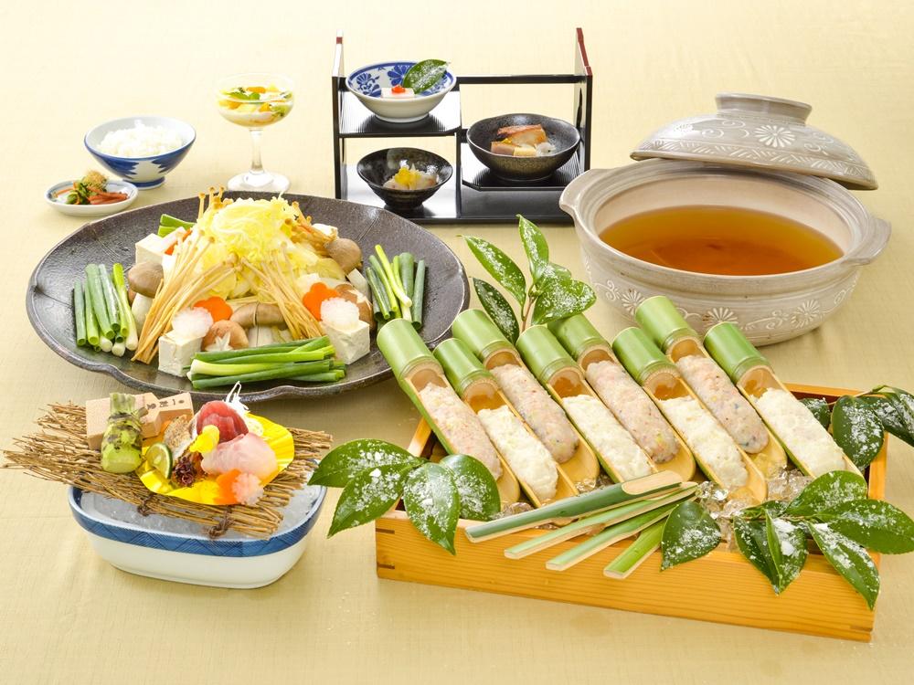 【夕食・朝食付】(飲み放題付)桜海老つみれと地魚根菜つみれの温か香る生姜鍋御膳  2月まで