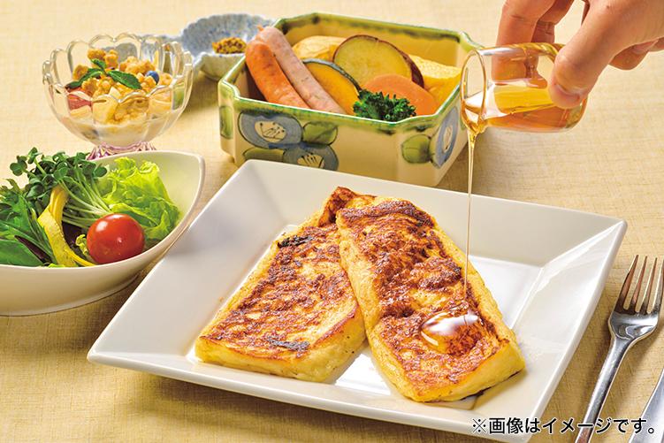 【朝食付】おすすめフレンチトーストに蒸し野菜と軽井沢ウインナーを朝食で!