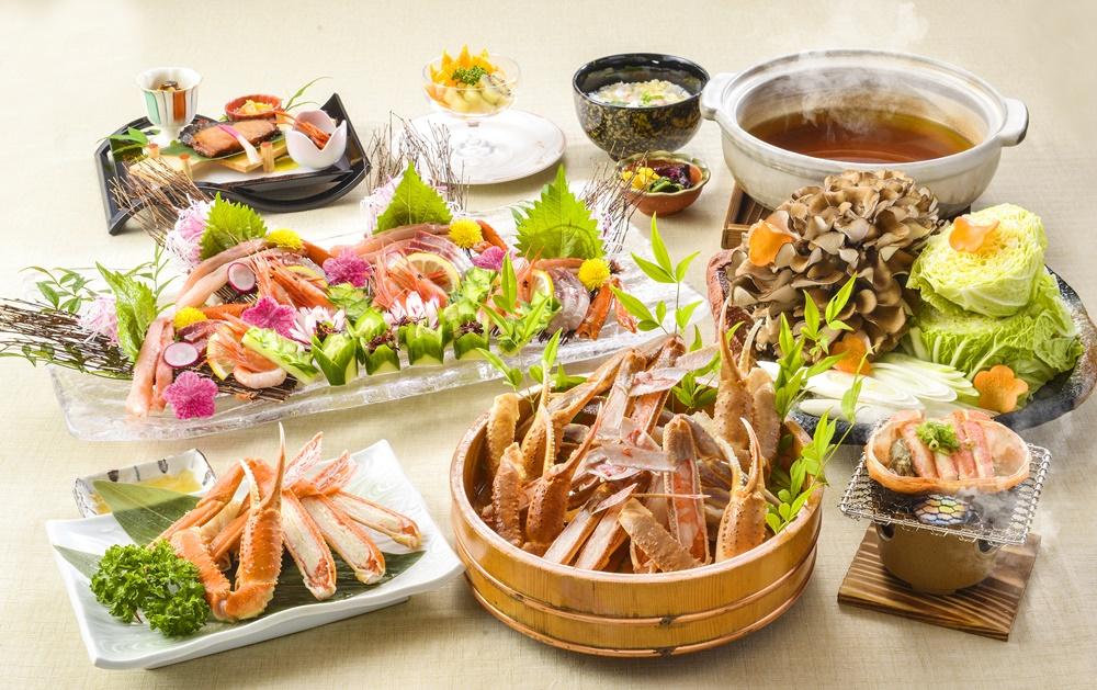 【夕食・朝食付】(飲み放題付)ズワイガニを楽しめる『ずわい蟹御膳』|3月まで
