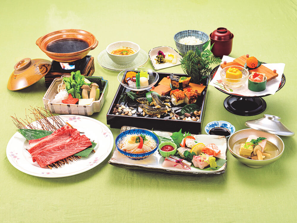 【夕食・朝食付】京の夏の食材を『味』わい『楽』しみ尽くす『味楽おすすめ京会席』8月まで