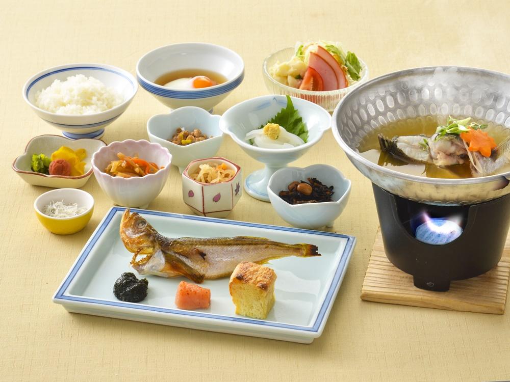 【朝食付】1日の始まりは朝食から!地元食材を取り入れた和朝食