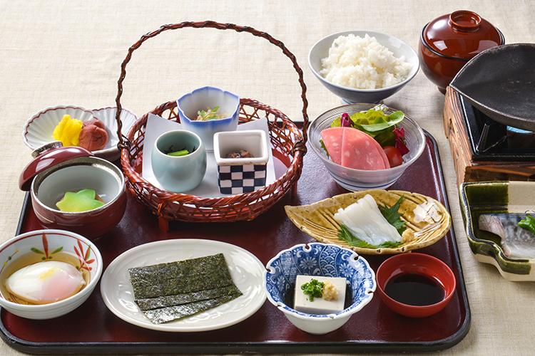 【朝食付】選べる御膳朝食!1日の始まりは朝食から!