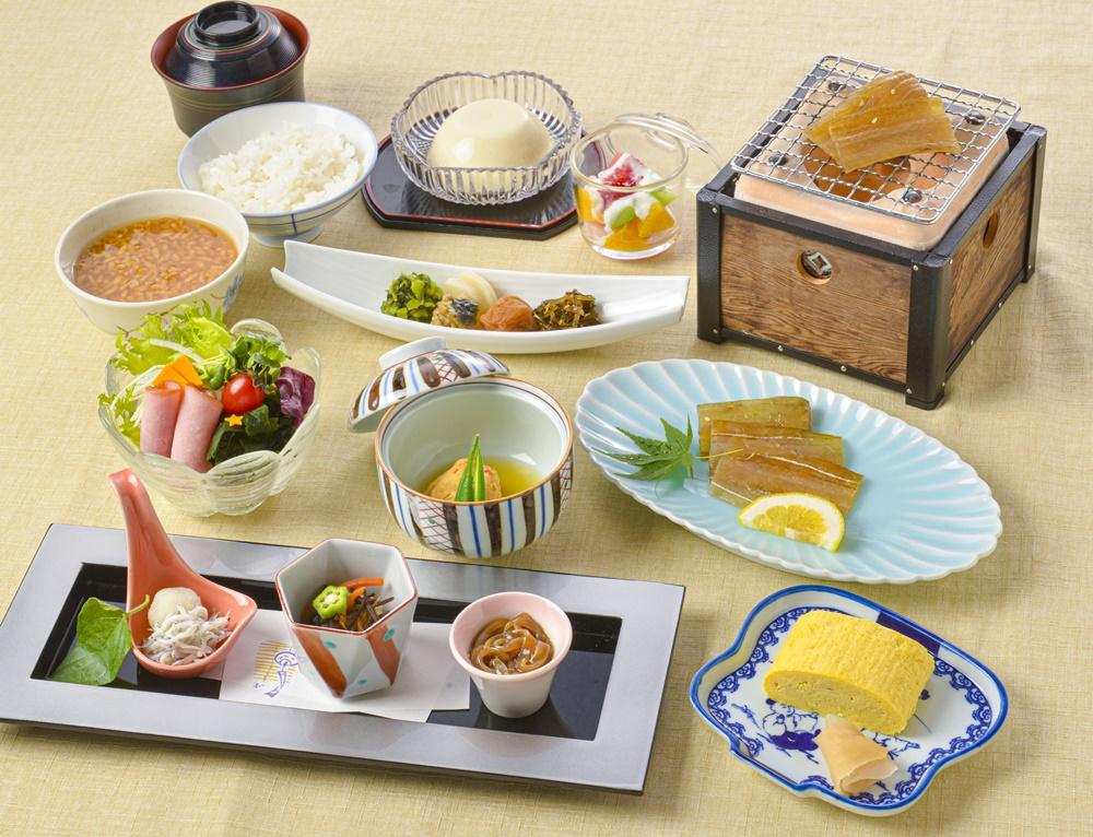 【朝食付】1日の始まりは朝食から!地元食材を利用した朝食を食べて元気にご出発