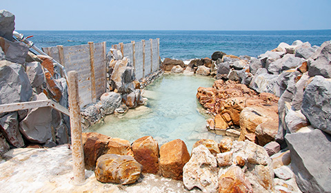 崎の湯露天風呂