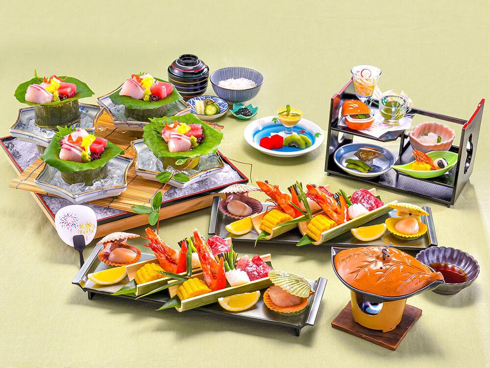 【夕食・朝食付】(飲み放題付)ぶどう山椒を使った地魚のお造りと『近江牛』の陶板焼き御膳 8月まで
