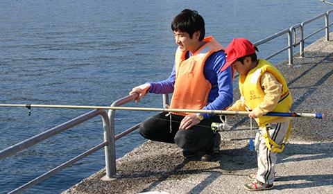 親子釣りパーク