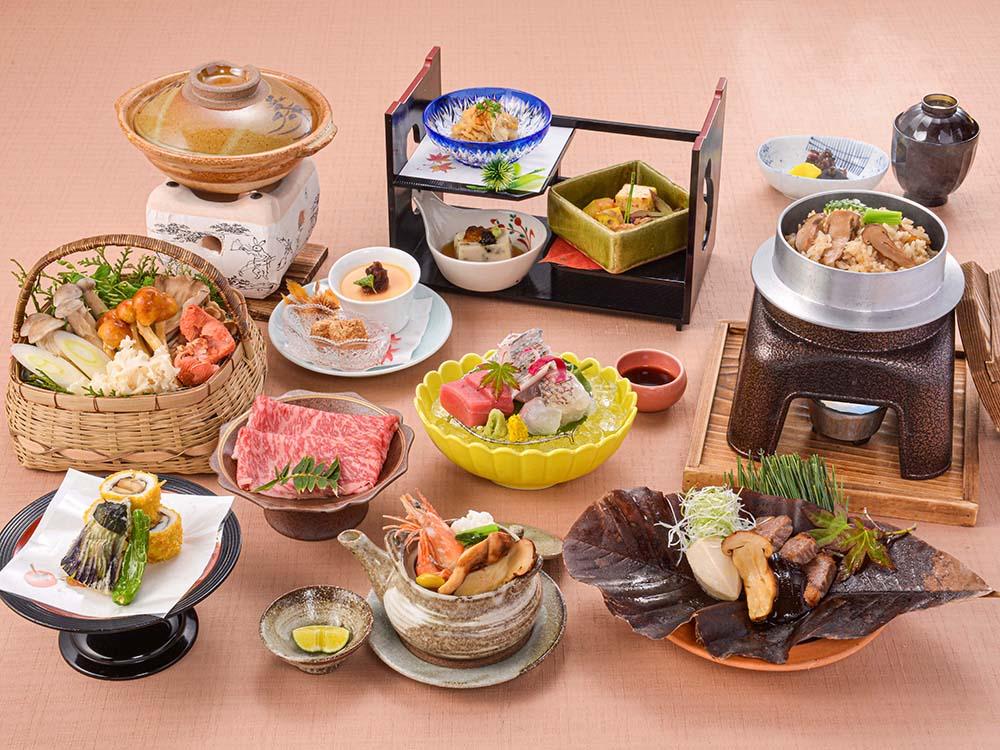 【夕食・朝食付】秋の味覚を五感で味わう・・・近江牛と松茸の特選御膳|10月まで